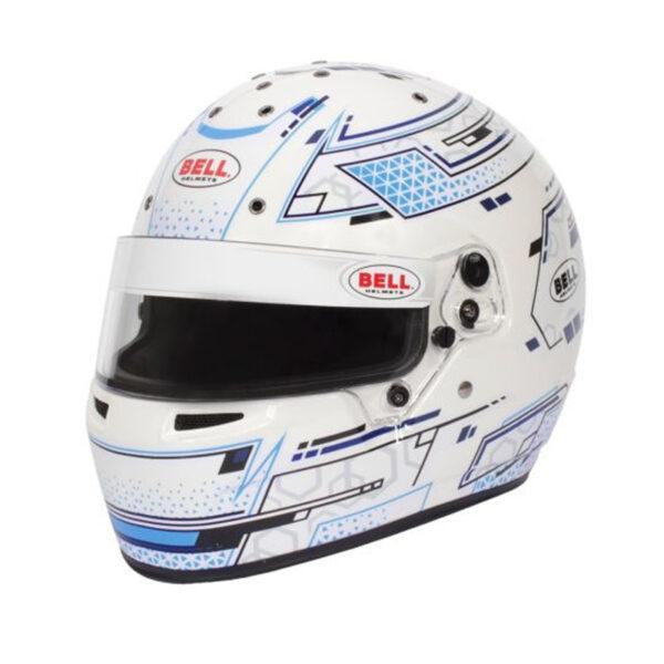 Bell RS7 Pro Stamina hvid blå